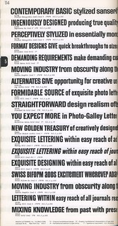 Photo-Lettering's One Line Manual of Styles, page 114