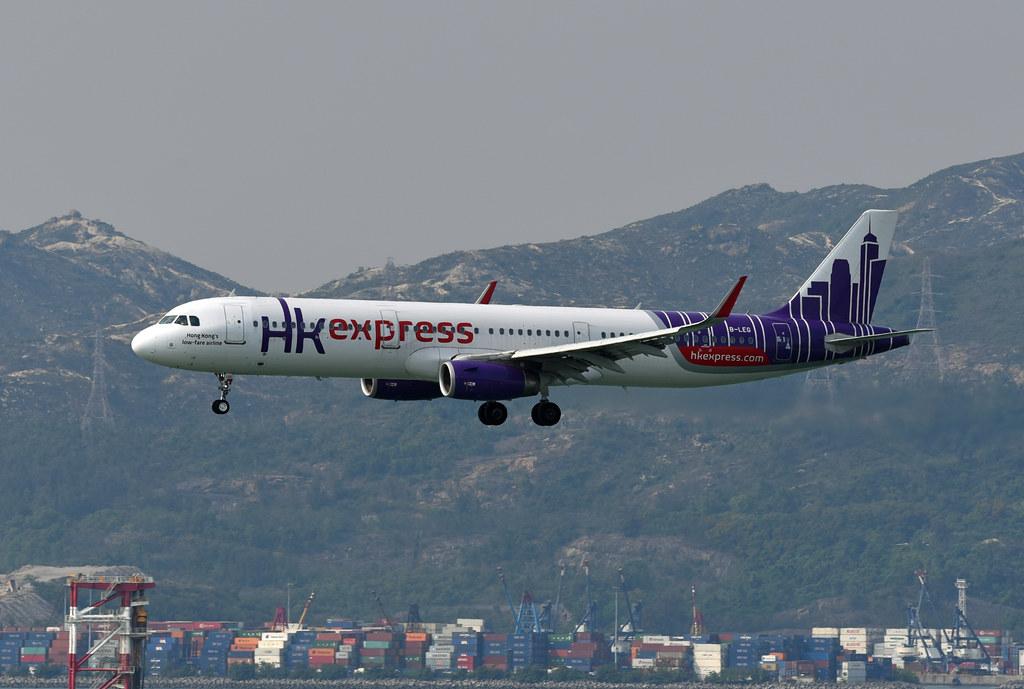HK Express Airbus A321-231(WL) B-LEG Sharklets