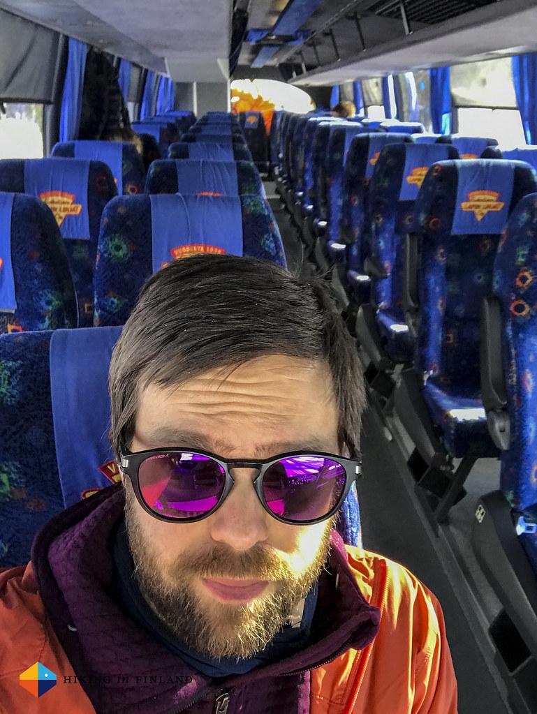 COVID-19 Bus Selfie