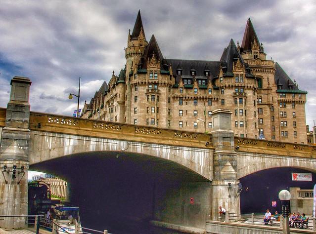 Ottawa On Canada ~ Fairmont Château Laurier  ~ Historic Hotel
