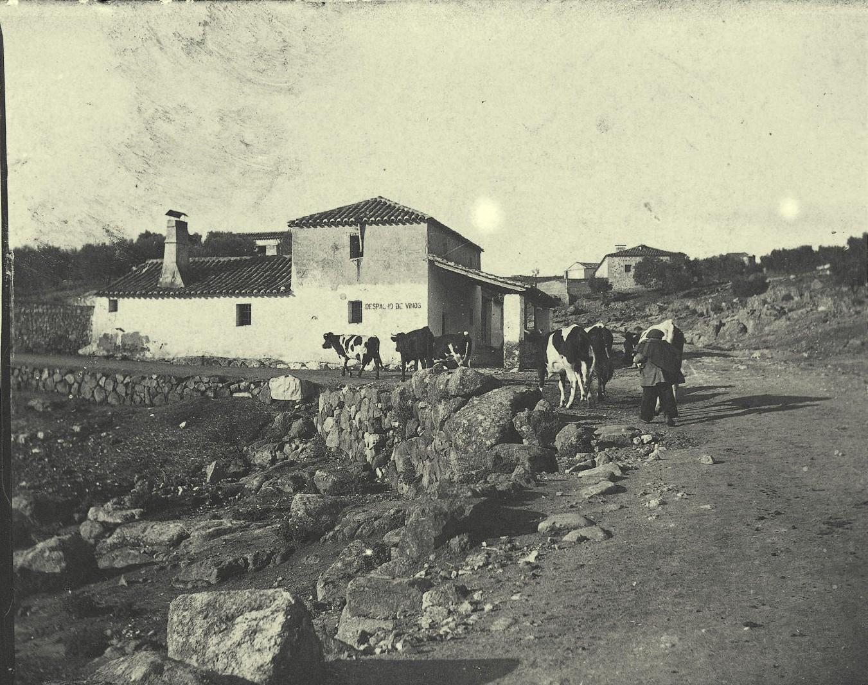 Venta de Caravantes a comienzos del siglo XX. Foto de Pedro Román Martínez. Centro de Estudios Juan de Mariana, Diputación de Toledo.