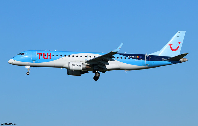 TUI Airlines Belgium Embraer ERJ-190STD OO-TEA