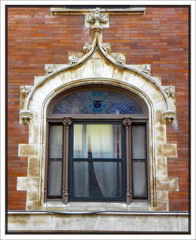 Buffalo  New York - Hotel Touraine - 262-274 Delaware Avenue - Now Apartments  -  Terra Cotta Window