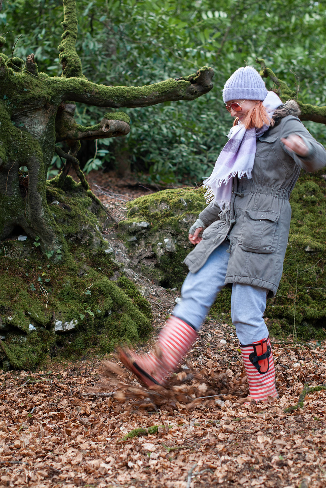 Everyday Wear: Real Life Dog Walking in the Woods Clothes | Not Dressed As Lamb