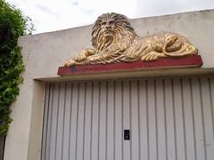 Garage lion