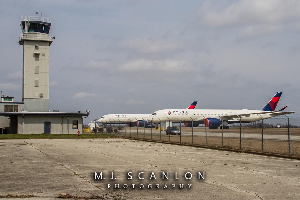 N503DN Delta Air Lines   Airbus A350-941   Arkansas International Airport