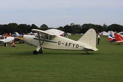 G-AFYO Stinson HW-75 [7039] Sywell 300819