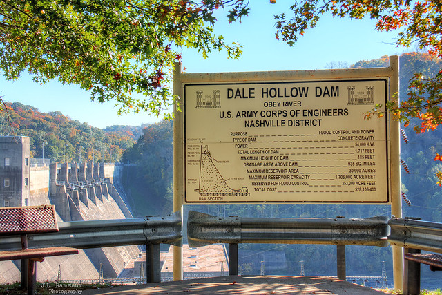 Dale Hollow Dam - Celina, Tennessee