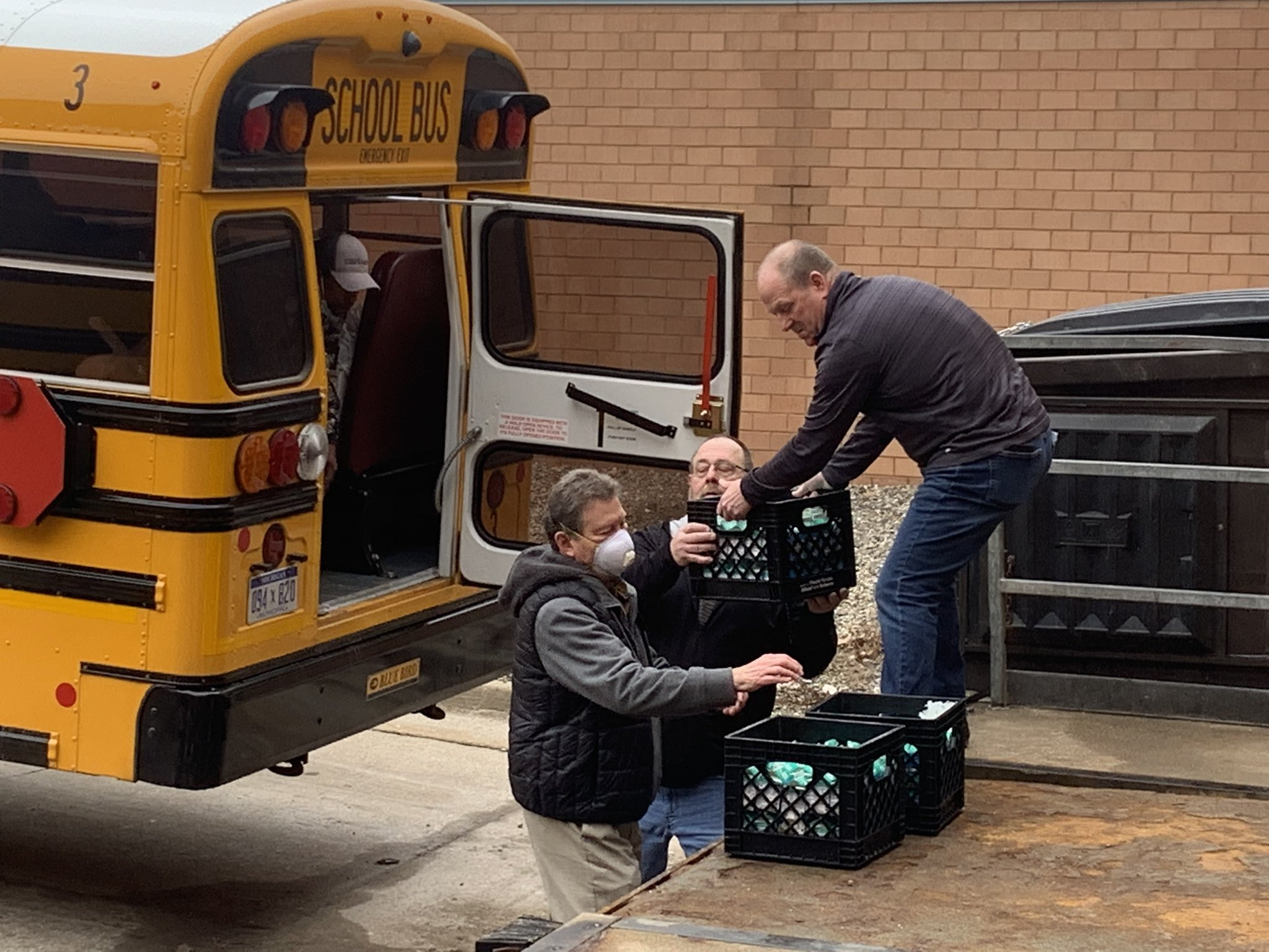 Schools Help Communities Deal with Coronavirus Crisis
