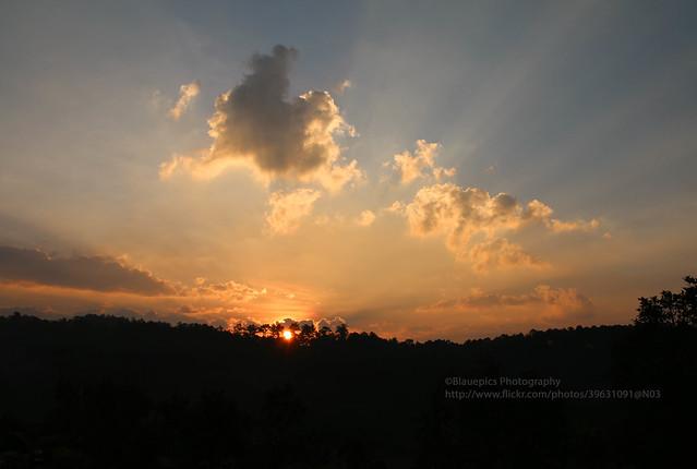 Ban Thung Luang, sunrise
