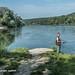 THU800 Thur River Mouth into the Rhine, Thurspitz Flaach, Canton Zurich, Switzerland