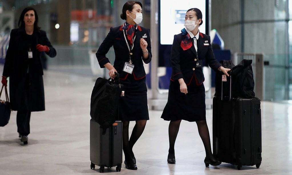 日本航空成為第一家宣布女性職員無需穿著高跟鞋與裙子的日本大企業。(圖片來源:Benoît Tessier/Reuters)