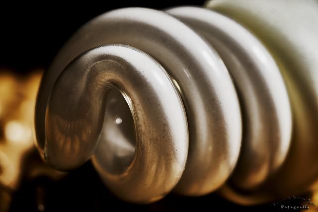 Formas de cristal, bombilla - Glass shapes, light bulb
