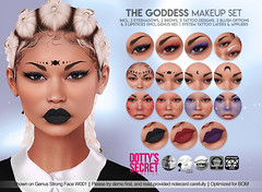 Dotty's Secret - The Goddess - Makeup Set