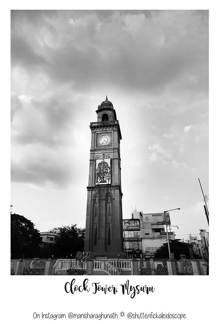 Clock Tower at Mysuru