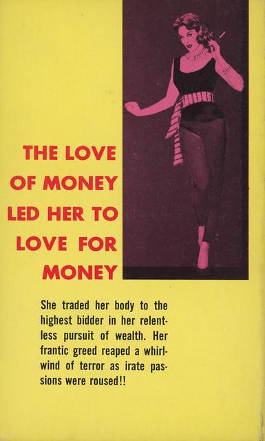 Tuxedo Books 116 - John Nemec - Pleasure Girl (back)