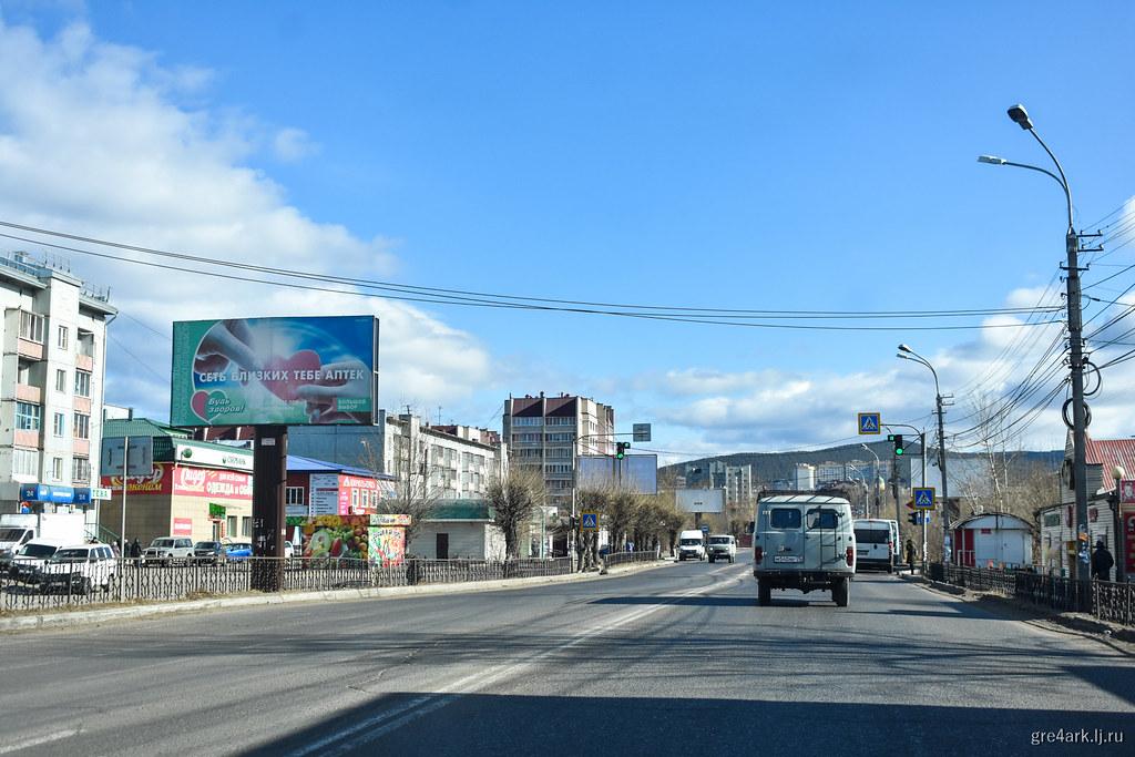 Как закрыть город рекламой? Учимся у Читы! архитектура,реклама,Чита