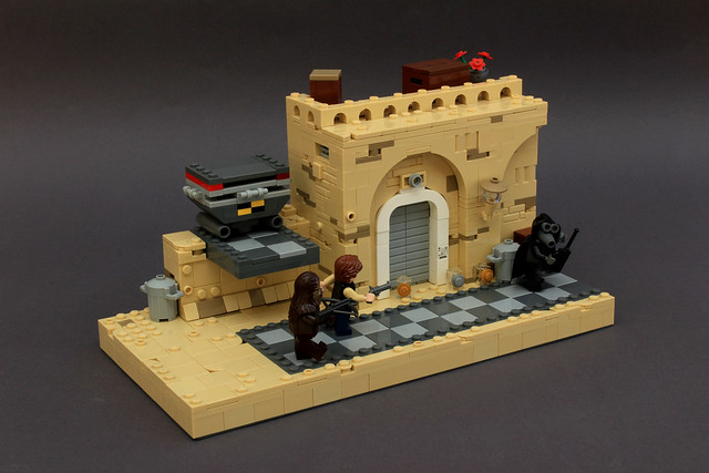 Mos Eisley Spaceport (LSWII-revisited)