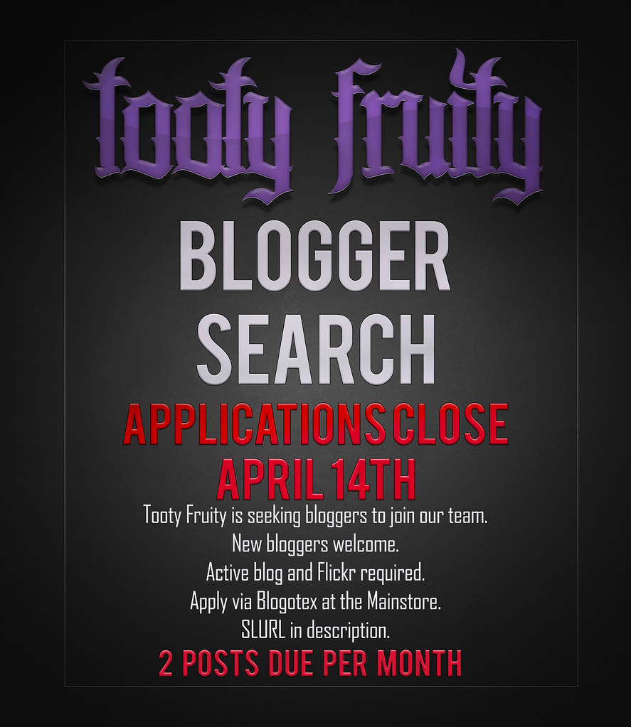 Tooty Fruity – Blogger Applications