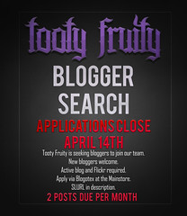 Tooty Fruity - Blogger Applications