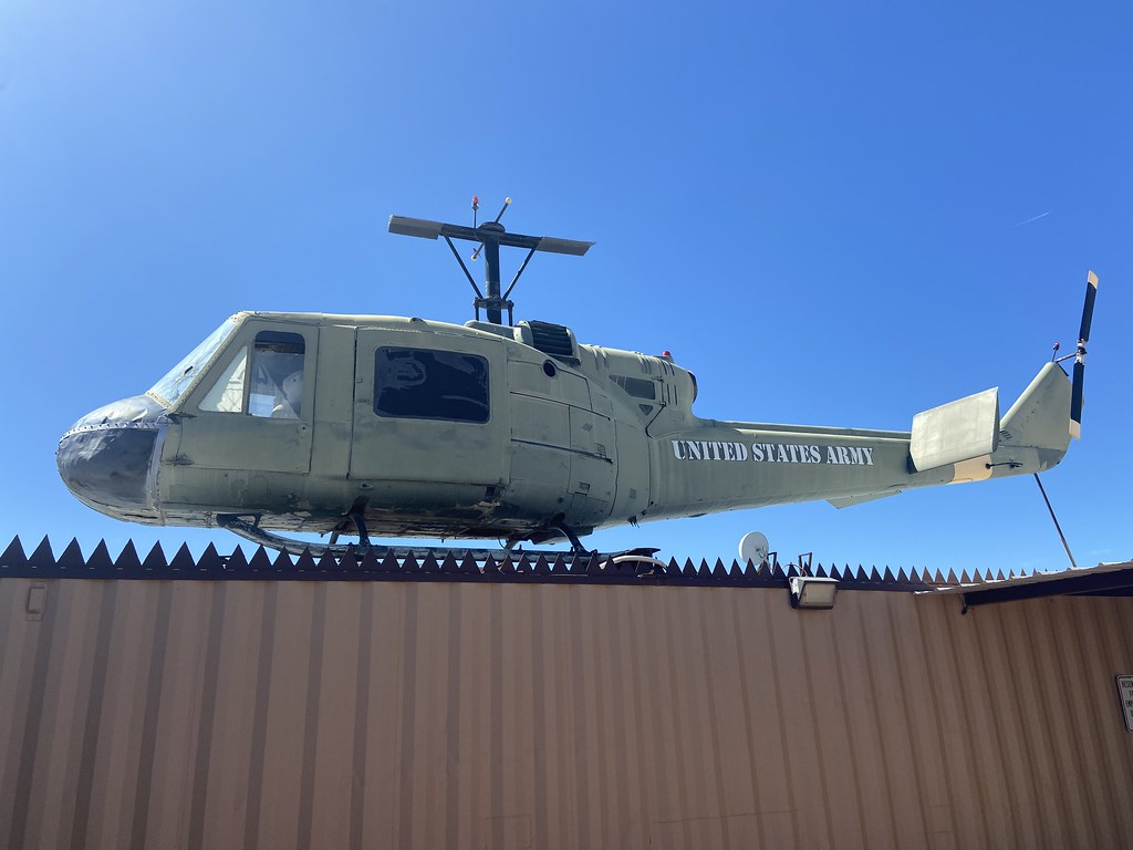 (66-15078), Bell UH-1M Iroquios, On Display, United States (1806), Apache Junction 15th March 2020