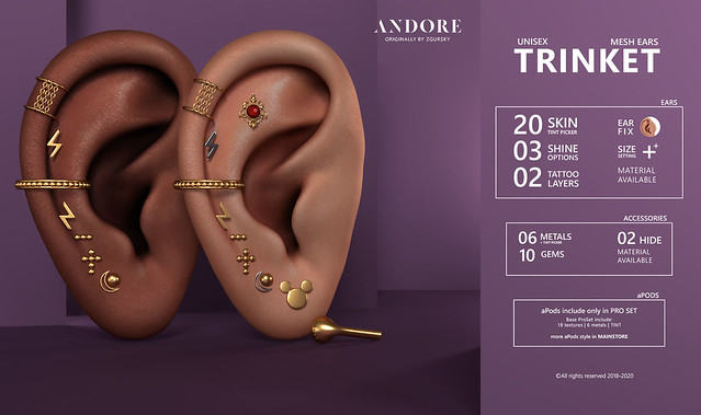 :ANDORE: @ Exclusive for Level Event ( Open: 1 April)