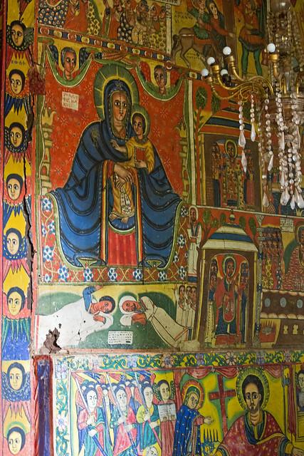 Ura Kidane Mihret monastery, Zege Penisula, Bahir Dar, Ethiopia