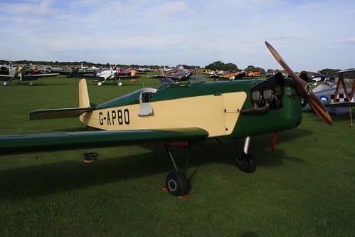 G-APBO Druine D53 [PFA 229] Sywell 300819