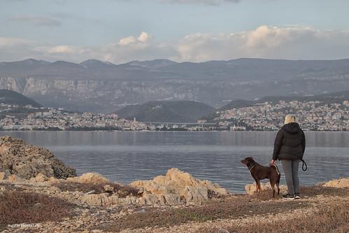 landscape dog people croatia hrvatska europe canon