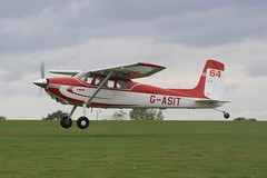 G-ASIT Cessna 180 [32567] Sywell 310819
