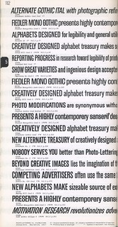 Photo-Lettering's One Line Manual of Styles, page 112