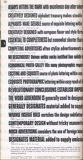 Photo-Lettering's One Line Manual of Styles, page 110