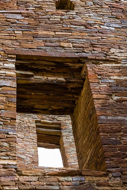 Doors in the Walls of Pueblo Bonito in Chaco Canyon