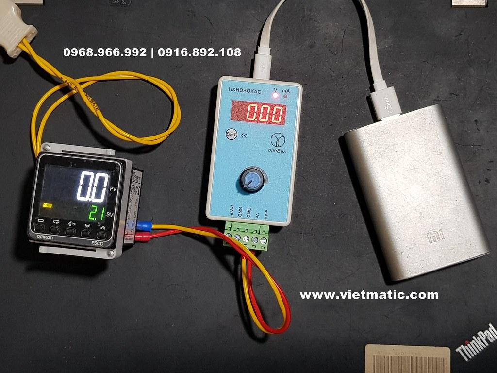 Máy phát tín hiệu điện áp 0V