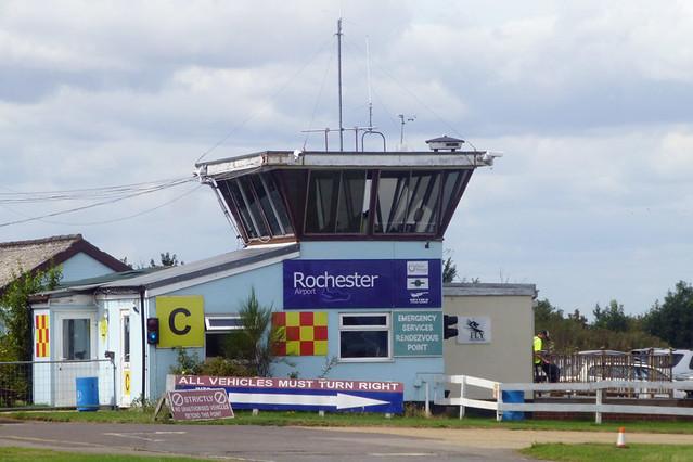 Rochester Airport.