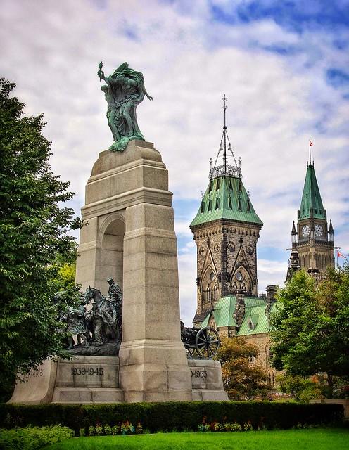 Ottawa Ontario ~ Canada ~ The National War Memorial  AKA The Response ~ 1939