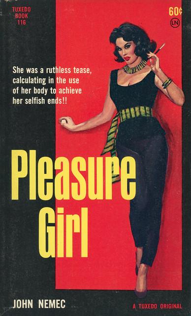 Tuxedo Books 116 - John Nemec - Pleasure Girl