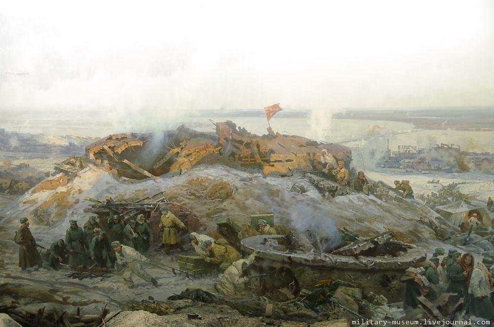 Музей-панорама Сталинградская битва-107