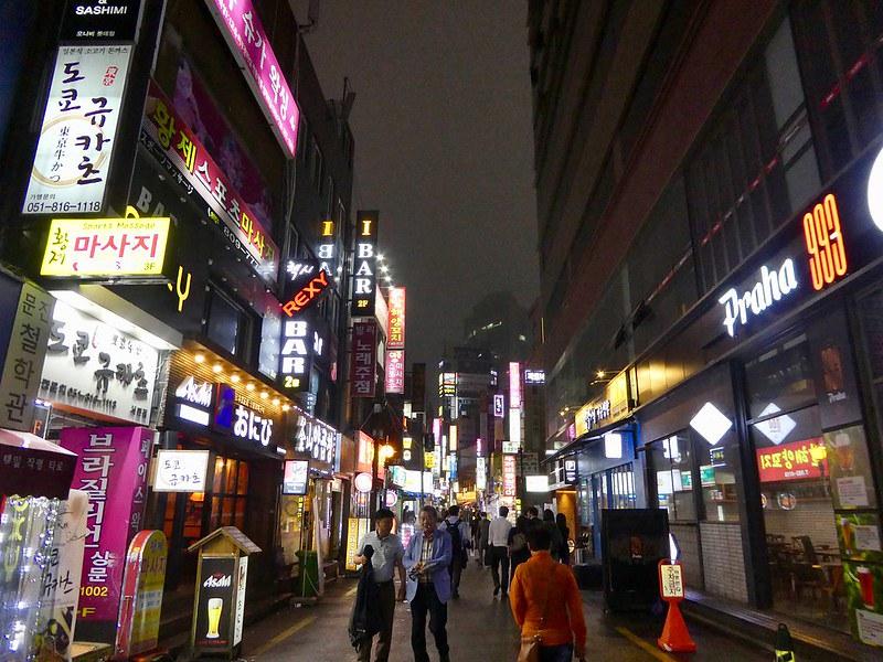 Seomyeon district of Busan, South Korea