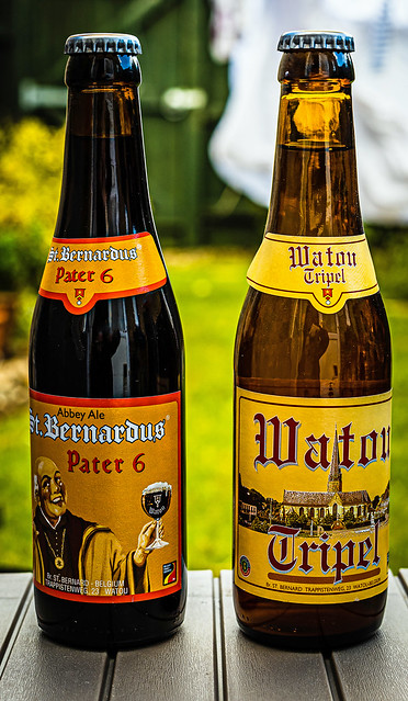 Evening Tipples Sorted (St Bernardus Pater 6 & a Watou Triple) (Panasonic S1 & Sigma DN 45mm f2.8 Prime) (1 of 1)