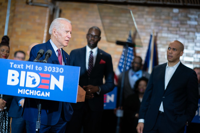 Endorsement Event with Senator Cory Booker and Lieutenant Governor Garlin Gilchrist - Flint, MI - March 9, 2020