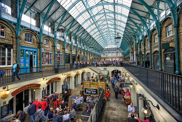 Covent Garden Restaurants in London, England