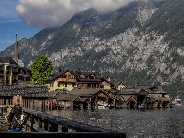 At the UNESCO World Heritage Village of Hallstatt, Austria.