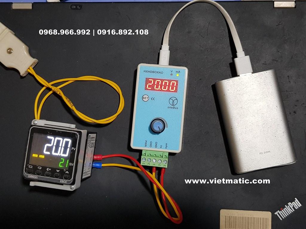 Máy phát tín hiệu 20mA
