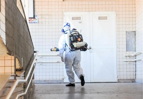 Sanear/DF: ações conjuntas no combate ao coronavírus e à dengue