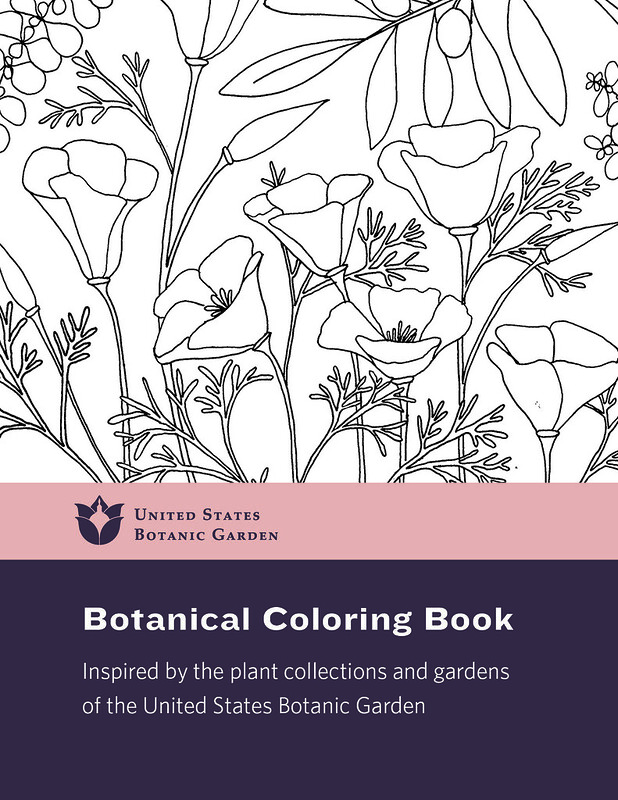 Color Our Collections - USBG Coloring Book United States Botanic Garden