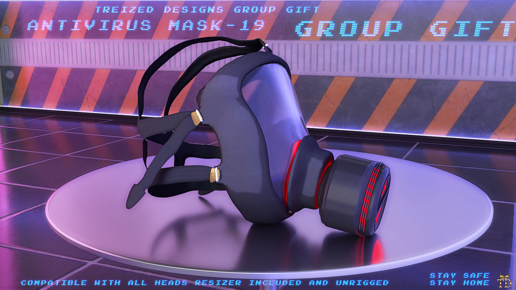 """TD""Antivirus Mask -19 Group Gift"
