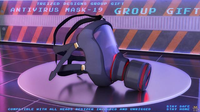 """""""TD""""Antivirus Mask -19 Group Gift"""