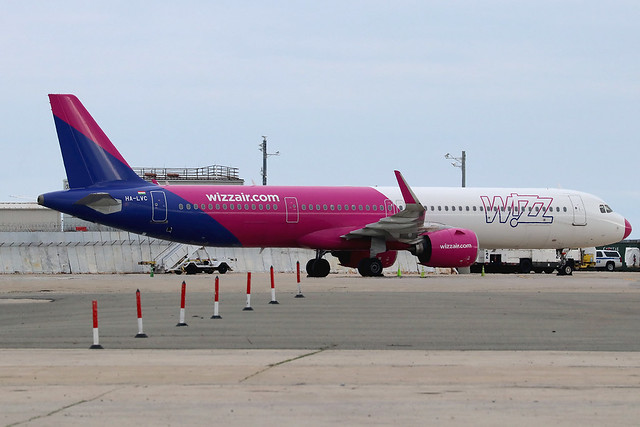 HA-LVC | Airbus A321-271NX | Wizz Air
