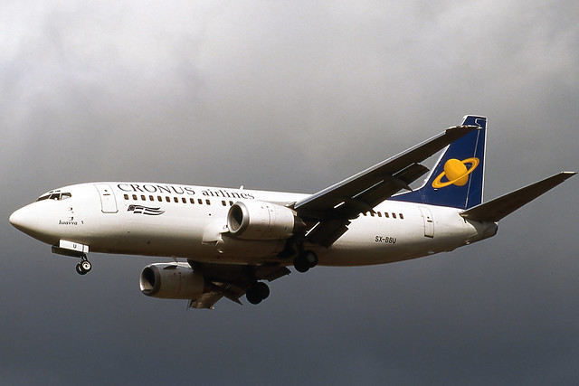SX-BBU Cronus Airways 737-300 (BRU/EBBR)